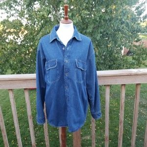 Levi's Fleece Lined Heavy Denim Shirt
